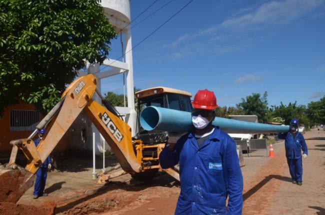 Prefeitura de São Gonçalo assina ordem de serviço para construção da rede de distribuição de água do Sistema Adutor Maxaranguape