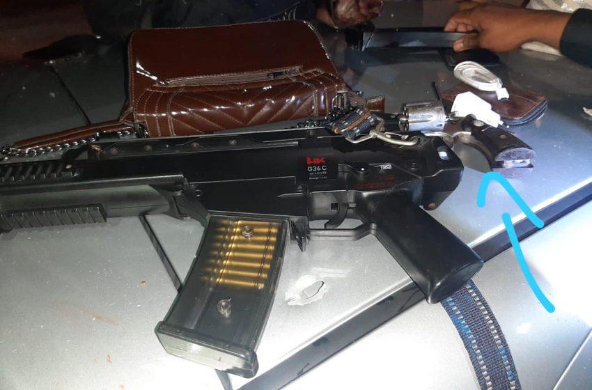 Perseguição e tiroteio na Zona Sul da capital