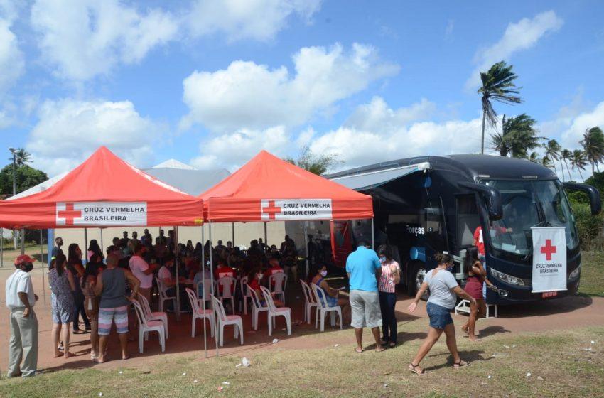Prefeitura Municipal e Cruz Vermelha RN realizam vacinação contra a Covid-19 em São Gonçalo