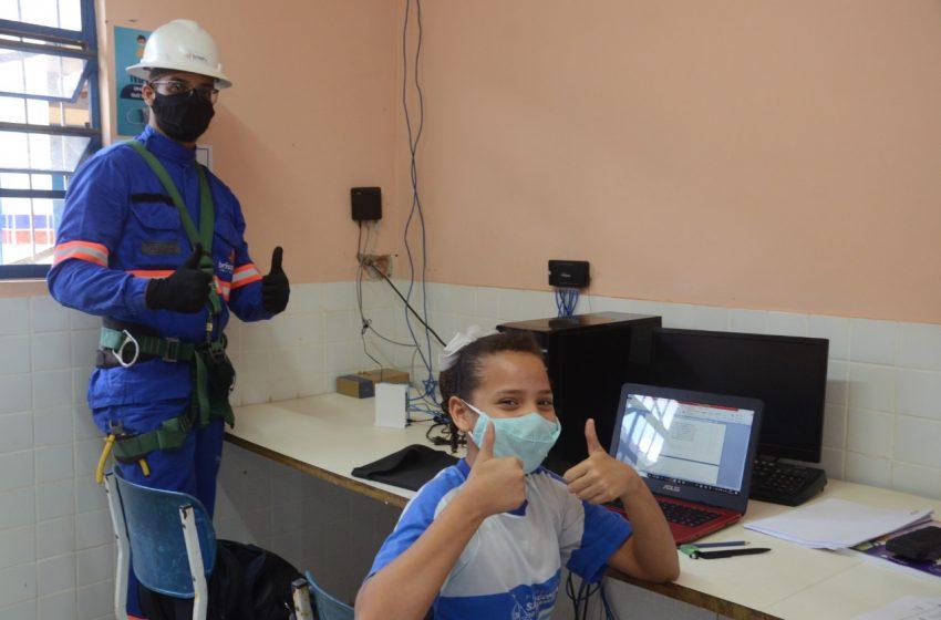 Escolas da rede pública de São Gonçalo recebem ações do programa Educação Conectada
