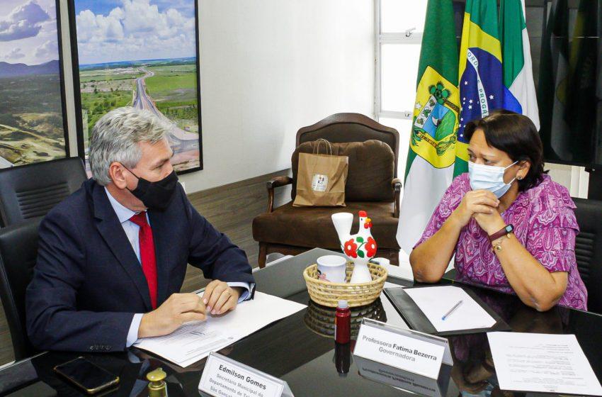 Diretor do Demutran de São Gonçalo participa de reunião com a governadora Fátima Bezerra