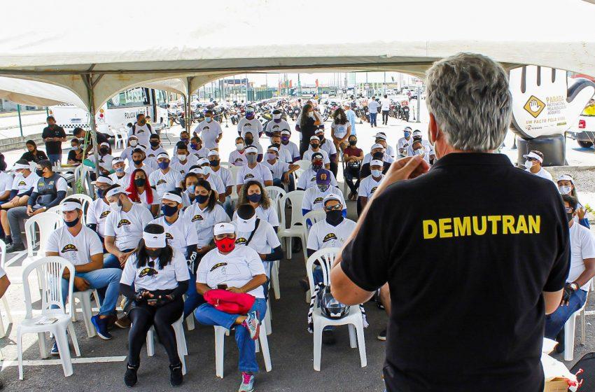 Prefeitura de São Gonçalo do Amarante e DEMUTRAN realiza curso de direção defensiva