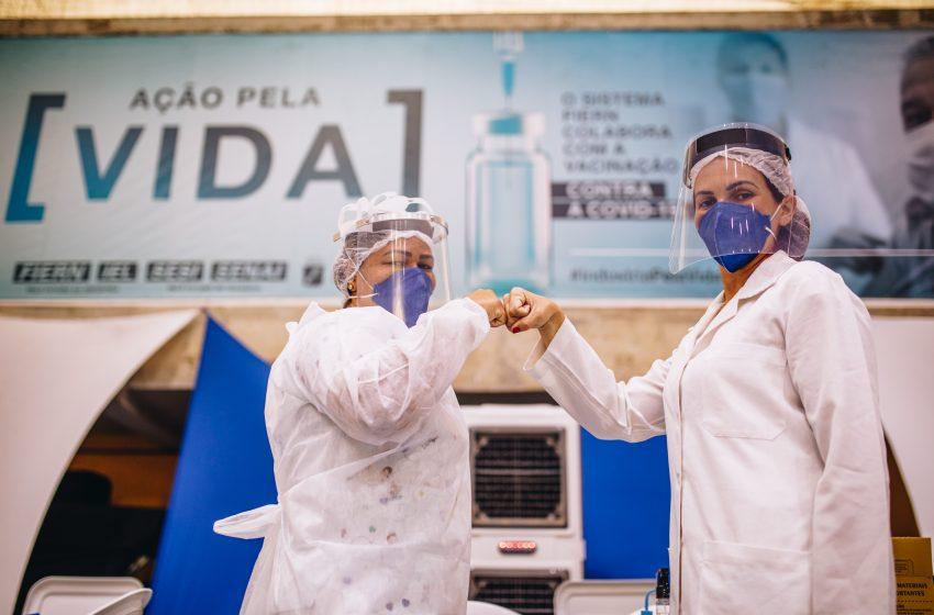 RN supera a marca de 1 milhão de pessoas completamente vacinadas contra a Covid-19
