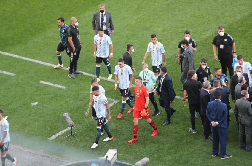 Jogadores argentinos são notificados a deixar o Brasil e não serão investigados por descumprirem lei sanitária