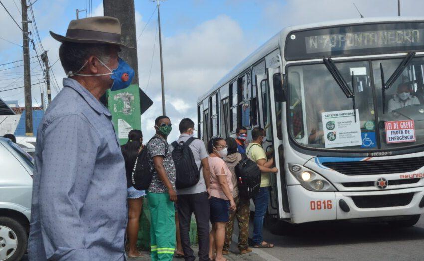 Mesmo com ameaça de greve, ônibus circulam normalmente em Natal, diz STTU